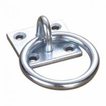 Plaque avec anneau pour filets à foin CG